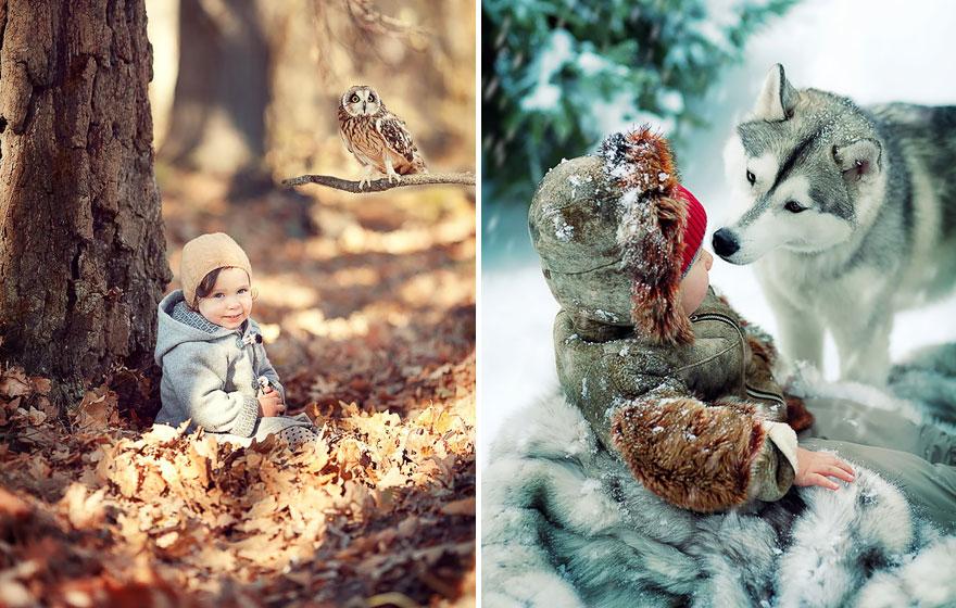 Melancolia iernilor din copilarie, in poze superbe - Poza 13