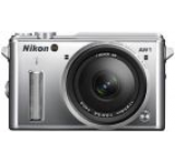 Aparat Foto Mirrorless Nikon 1 AW1 (Argintiu) Subacvatic + Obiectiv 11-27.5mm