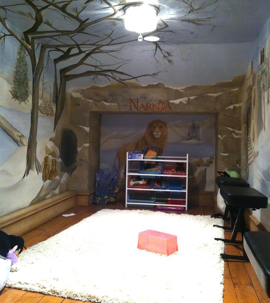 Cum sa aduci basmul in camera copilului. 15+ Idei geniale de amenajare - Poza 4