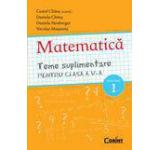 Matematica. Teme suplimentare pentru clasa a V-a semestrul I