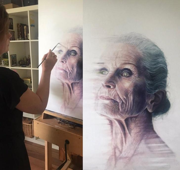 Creatii ale pictorilor amatori demne de a fi expuse in marile muzee - Poza 2