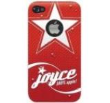 Husa Blautel BLTCPTJO4 protectie spate iPhone 4/4S (Rosu)