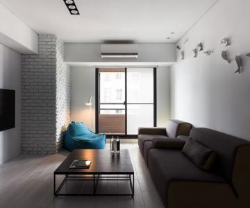 Apartament minimalist si minuscul in Taiwan