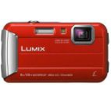 Aparat Foto Digital Panasonic DMC-FT30EP-R, 16.1 MP, 1/2.3inch CCD, Filmare HD, Zoom Optic 4x (Rosu)