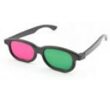 Ochelari 3D anaglifici Albacom A52 cu rame din plastic (Verde/Mov)