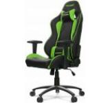 Scaun Gaming AKRacing Nitro, reglabil (Verde)