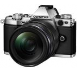 Aparat Foto Mirrorless Olympus E-M5II 1240 Kit, 16 MP, Filmare Full HD (Argintiu)