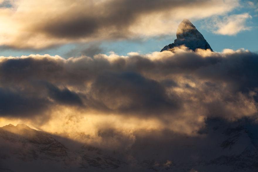 Maretia Alpilor pe timp de iarna - Poza 19