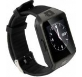 Smartwatch iUni S30, Capacitive touchscreen 1.54inch, Procesor Dual-Core 1.2GHz, 128MB RAM, Bluetooth, Bratara silicon, Camera foto, Functie telefon (Negru)