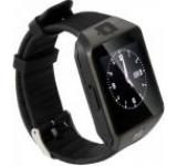 Smartwatch iUni S30, Capacitive touchscreen 1.54inch, Procesor Dual-Core 1.2GHz, 128MB RAM, Bluetooth, Bratara silicon, Camera foto, Functie telefon (Negru)