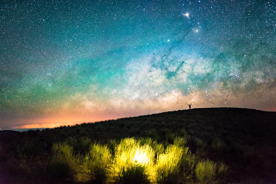 Lumina noptii: Un dans al Caii Lactee, in miezul verii - Poza 3