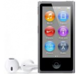 iPod Nano Apple, Generatia #7, 16 GB (Gri spatial)