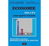 Economie - clasa a XI-a - ciclul superior al liceului