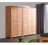 Dulap din lemn masiv de fag Vinci 600 2D natural