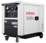 Generator Curent Electric Digital Kipor ID 6000, 5.5 kVA, Motor 1 cilindru, 4 timpi, Diesel, Autonomie 7 ore