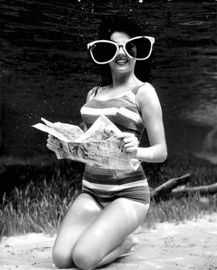 Fotografii subacvatice de exceptie, din 1938 - Poza 2