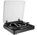 Pick-up Audio Tehnica AT-LP60BT, Full-automat, Bluetooth (Negru)