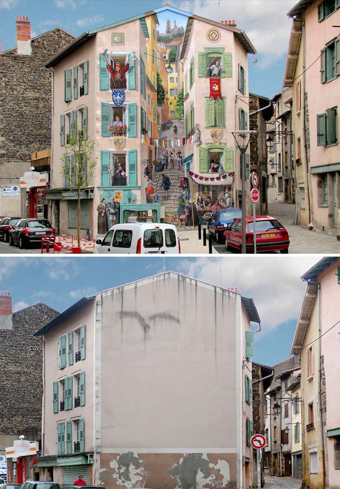 Arta stradala: Cele mai frumoase picturi pe cladiri - Poza 2