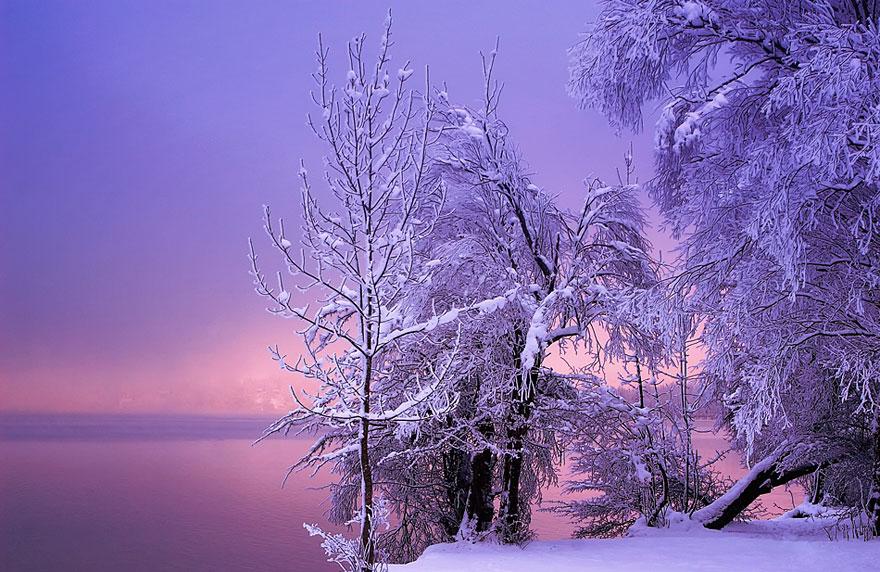 Cele mai frumoase peisaje de iarna - Poza 16