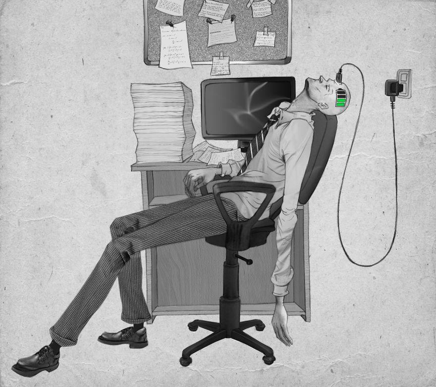 Problemele societatii actuale, in ilustratii rascolitor de sincere - Poza 8