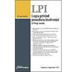 Legea privind procedura insolventei si 9 legi uzuale. Actualizat 1 septembrie 2012