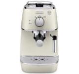 Espressor Delonghi Distinta ECI 341.W, 1100 W, 1L, 15 bar, Cappuccino (Alb)