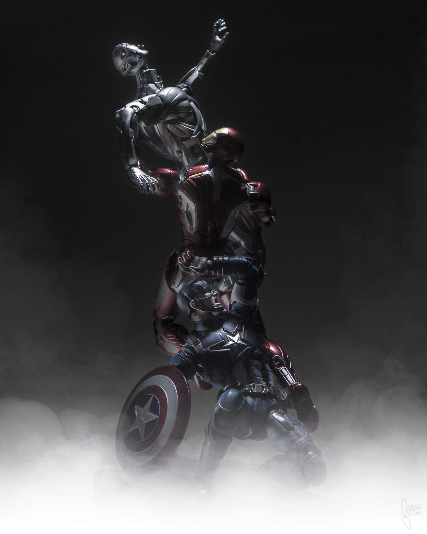 Istoria artei cu supereroi Marvel - Poza 6