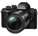 Aparat Foto Mirrorless Olympus E-M10 Mark II + Obiectiv EZ-M1415-2, 16.1 MP, Filmare Full HD (Negru)
