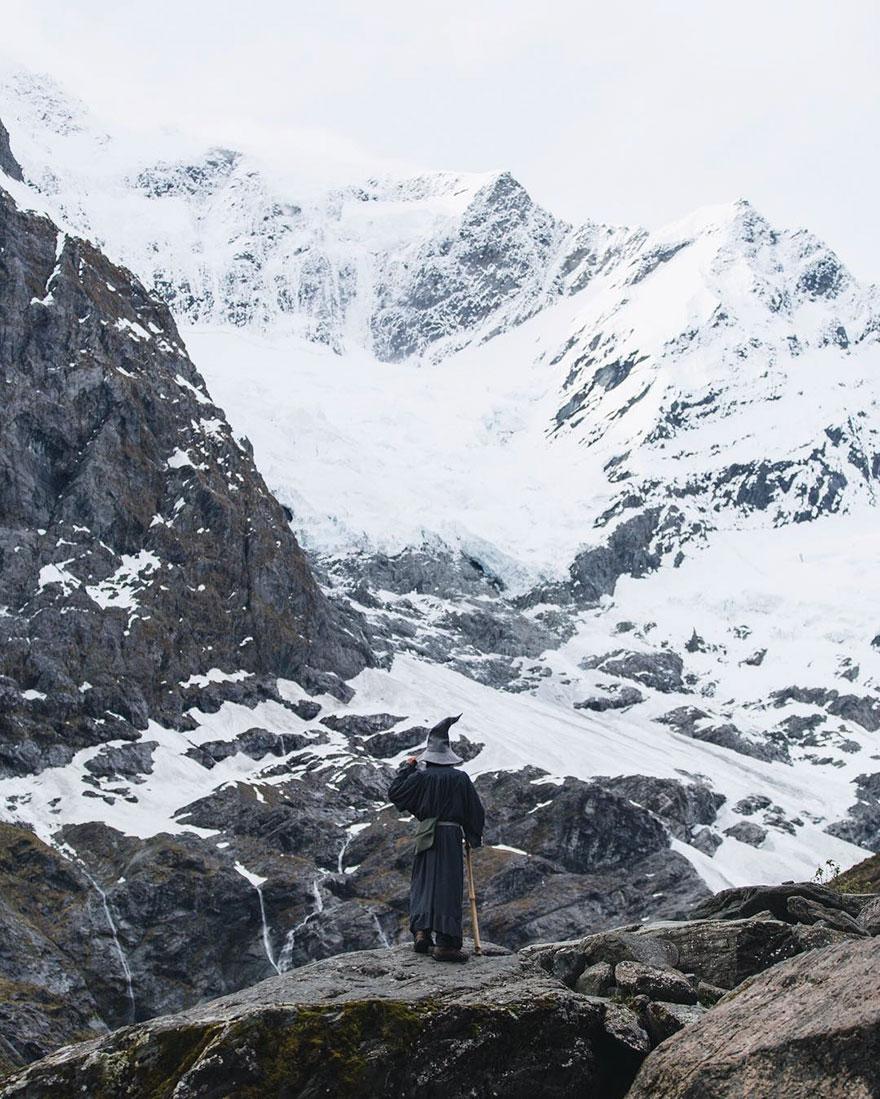 Calatoria lui Gandalf prin Noua Zeelanda, in poze epice - Poza 2