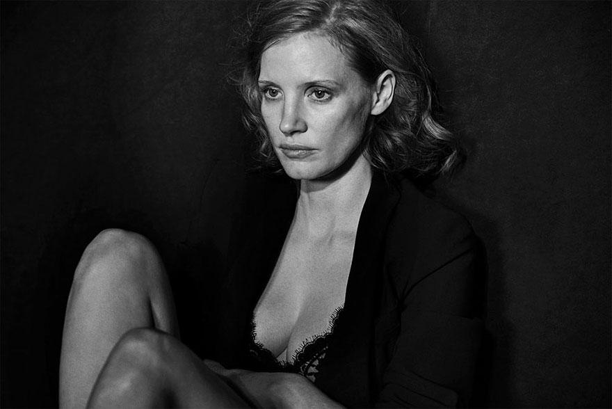 Fara retusari: Frumusetea actritelor, in alb si negru - Poza 6
