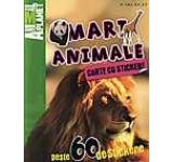 Carte cu stickere: Mari animale
