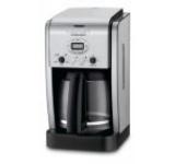 Cafetiera electrica Cuisinart, 1000W, 1.8l (Negru-Argintiu)