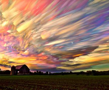 Cerul pictat de Matt Moloy