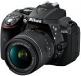 Aparat Foto D-SLR Nikon D5300, Kit AF-P 18-55mm VR, Filmare Full HD, 24.2MP (Negru)