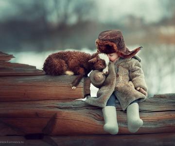 Melancolia iernilor din copilarie, in poze superbe