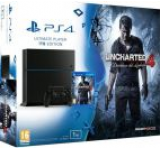 Consola Sony PlayStation 4 1TB + Uncharted 4: A Thief's End