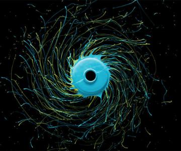 Efectul uimitor al fortei centrifuge in domeniul artistic