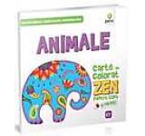 Animale. Carte de colorat ZEN