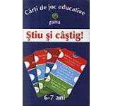 Carti de joc educative-Stiu si castig