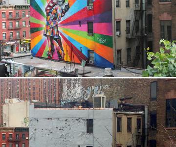 Arta stradala: Cele mai frumoase picturi pe cladiri