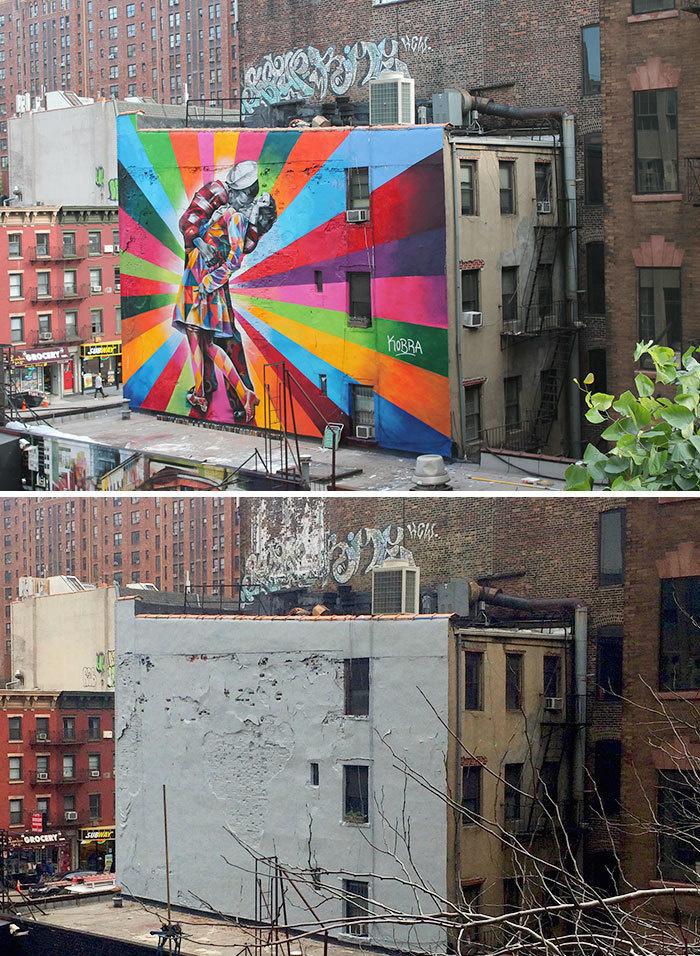 Arta stradala: Cele mai frumoase picturi pe cladiri - Poza 1