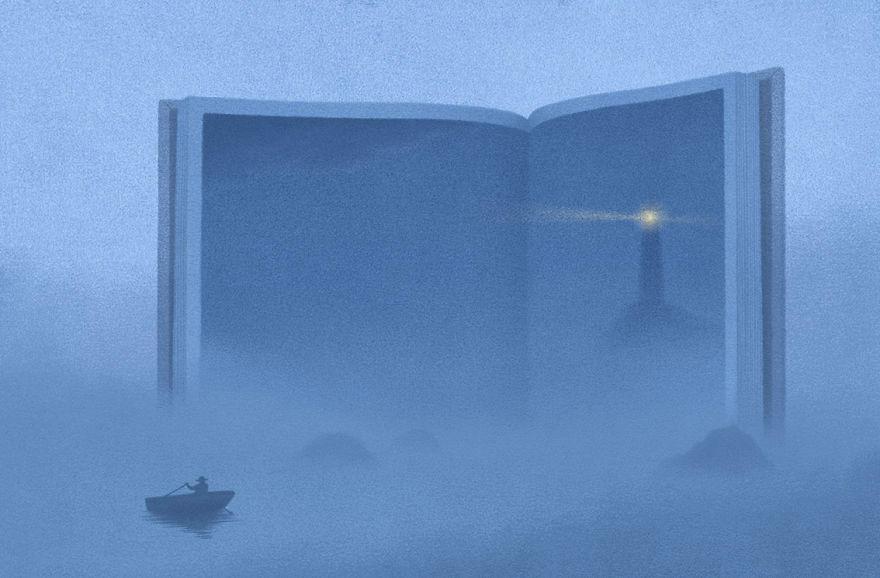 Capodopere literare, in ilustratii suprarealiste - Poza 15