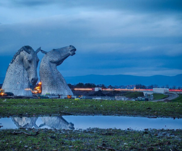 Caii legendari ai Scotiei, de Andy Scott