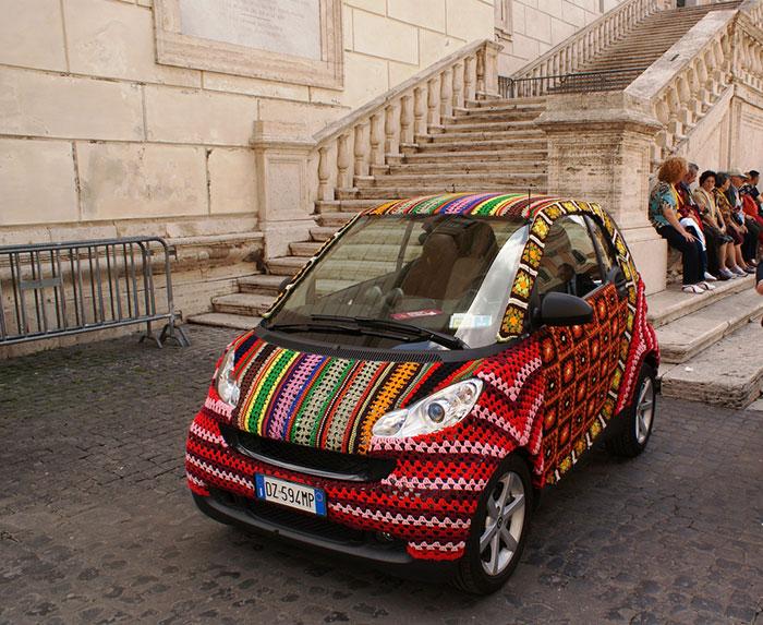 Arta pe patru roti: Cei mai ingeniosi posesori de masini - Poza 16