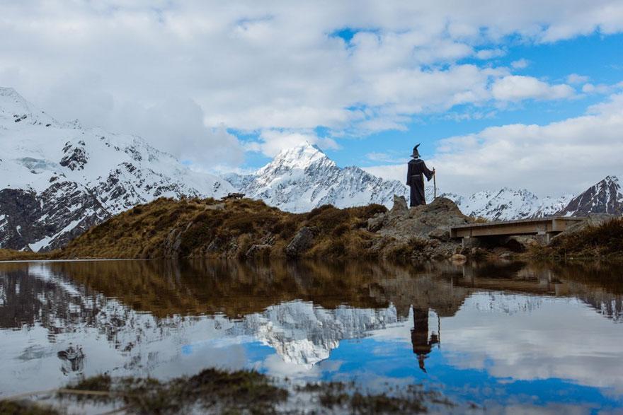 Calatoria lui Gandalf prin Noua Zeelanda, in poze epice - Poza 15