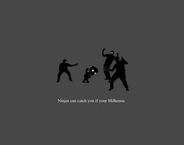 Ninja nu pot sa te prinda - Poza 3