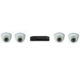 Kit supraveghere video DVR HD e-Sol CVI 4 CANALE VIDEO, 4 x Camere e-Sol CVI 720P-IR 30M, Lentila Variofocala (2.8-12)
