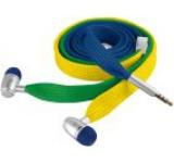 Casti Stereo Trust Urban Revolt Lace Brazil, Jack 3.5mm, Microfon (Multicolor)