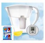 Cana filtranta AQUAPHOR PREMIUM cu indicator electronic +filtru masina de spalat vase si rufe (circa 300 spalari)