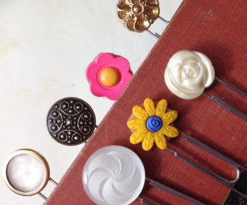 Ornamente si decoratiuni din nasturi